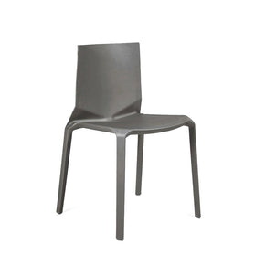 Vector Dark Grey Modern Stackable Side Chair (Set Of 4) Dining