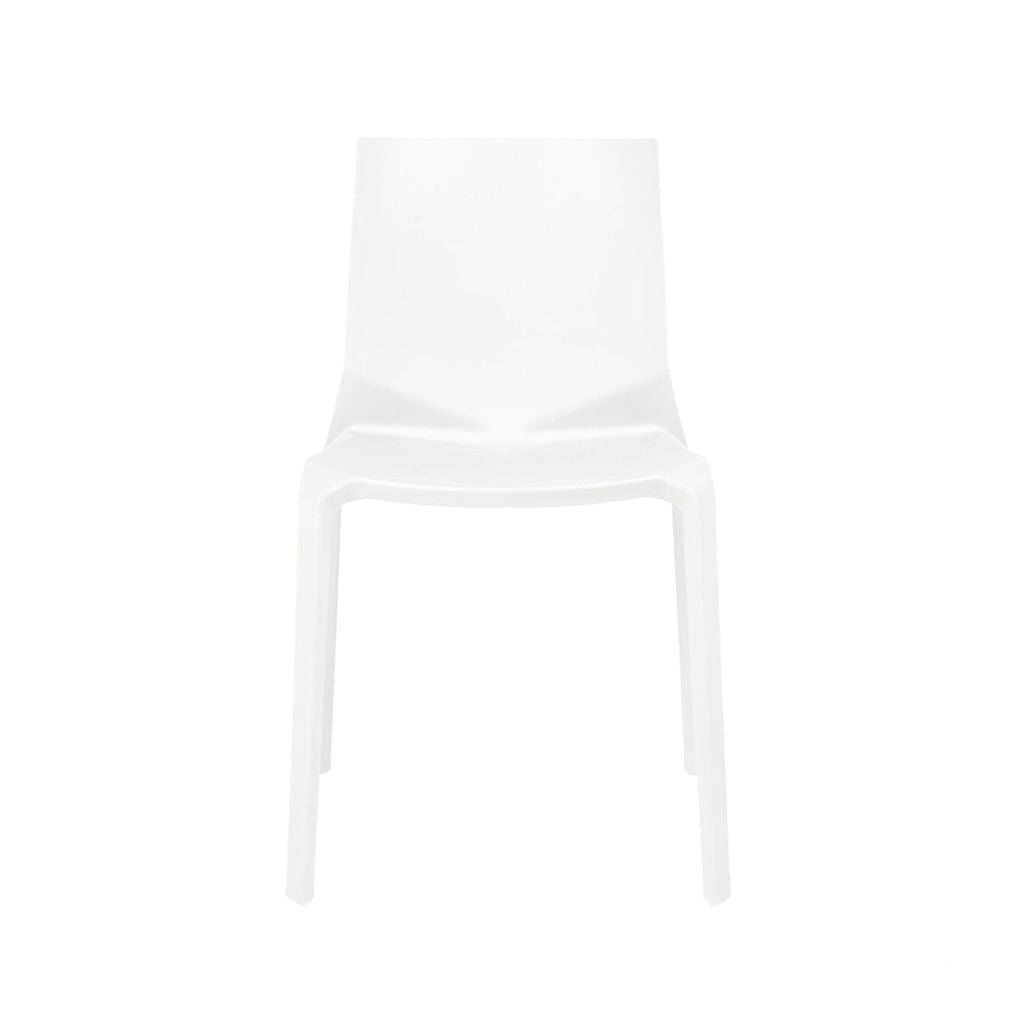 Vector White Modern Stackable Side Chair (Set of 4) by Design Lab MN ...