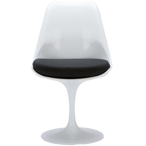 EdgeMod Daisy Side Chair in Black EM-106-BLK | 641061720423| $159.30. Dining Chairs - . Buy today at http://www.contemporaryfurniturewarehouse.com