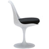 Dining Chairs - EdgeMod EM-106-BLK Daisy Side Chair in Black | 641061720423 | Only $159.30. Buy today at http://www.contemporaryfurniturewarehouse.com