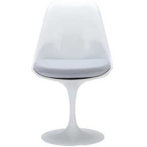 Dining Chairs - EdgeMod EM-106-GRY Daisy Side Chair in Grey | 641061720430 | Only $159.30. Buy today at http://www.contemporaryfurniturewarehouse.com