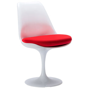 EdgeMod Daisy Side Chair in Red EM-106-RED | 616806868777| $159.30. Dining Chairs - . Buy today at http://www.contemporaryfurniturewarehouse.com