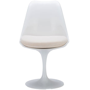 EdgeMod Daisy Side Chair in White EM-106-WHI | 641061720416| $159.30. Dining Chairs - . Buy today at http://www.contemporaryfurniturewarehouse.com
