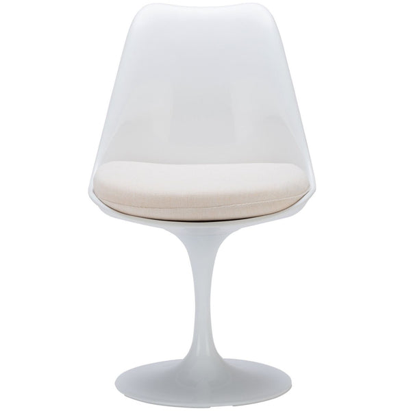 Dining Chairs - EdgeMod EM-106-WHI Daisy Side Chair in White | 641061720416 | Only $159.30. Buy today at http://www.contemporaryfurniturewarehouse.com