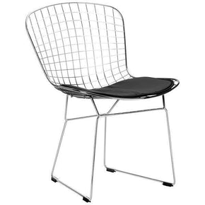 EdgeMod Morph Side Chair in Black (Set of 2) EM-108-BLK-X2 | 641061720454| $241.50. Dining Chairs - . Buy today at http://www.contemporaryfurniturewarehouse.com