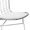 Dining Chairs - EdgeMod EM-108-WHI-X2 Morph Side Chair in White (Set of 2) | 641061720461 | Only $241.50. Buy today at http://www.contemporaryfurniturewarehouse.com