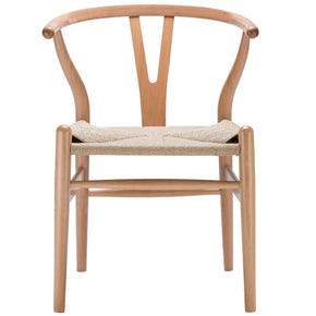 Weave Mid-Century Chair In Natural (Set Of 2) Dining
