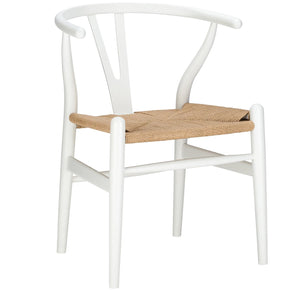 Weave Chair In White (Set Of 2) Dining