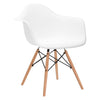 Vortex Arm Chair in White
