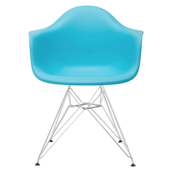 Padget Arm Chair In Aqua Dining