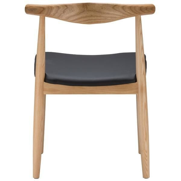 Dining Chairs - EdgeMod EM-116-NAT-X2 Keren Mid-century Elbow Style Dining Chair in Natural (Set of 2) | 641061720744 | Only $314.80. Buy today at http://www.contemporaryfurniturewarehouse.com