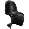 Dining Chairs - EdgeMod EM-117-BLK-X2 S Chair in Black (Set of 2) | 641061720959 | Only $175.00. Buy today at http://www.contemporaryfurniturewarehouse.com