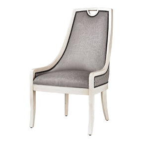 Dining Chairs - Elk Group ELK-139-005 Stage Dining Chair Silver,Grey,White | 843558127771 | Only $885.60. Buy today at http://www.contemporaryfurniturewarehouse.com