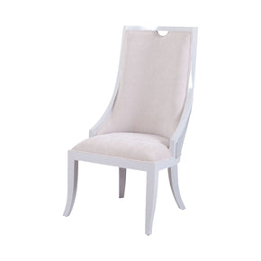 Rosa Vana Chair In Light Grey And Oyster Fabric Grey,oyster Dining