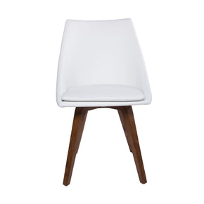 Calla Dining Chair In White - Set Of 2
