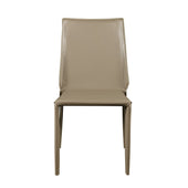 Alder Stacking Side Chair In Light Gray - Set Of 4 Dining