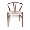 Evelina Side Chair in Walnut - Set of 2
