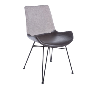 Dining Chairs - Euro Style EURO-17635LTGRY Alisa Side Chair in Light Gray - Set of 2 | 727511951798 | Only $637.98. Buy today at http://www.contemporaryfurniturewarehouse.com