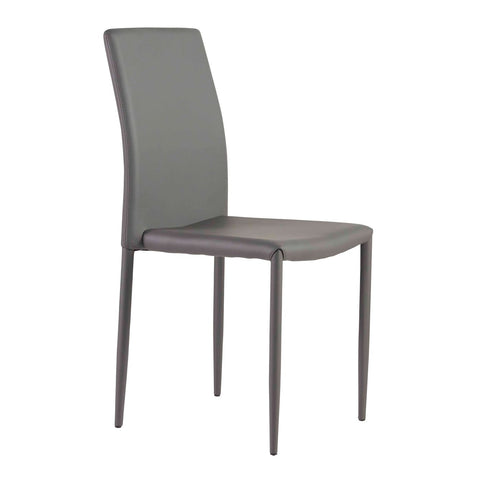 Sylvia Side Chair In Gray - Set Of 4 Dining