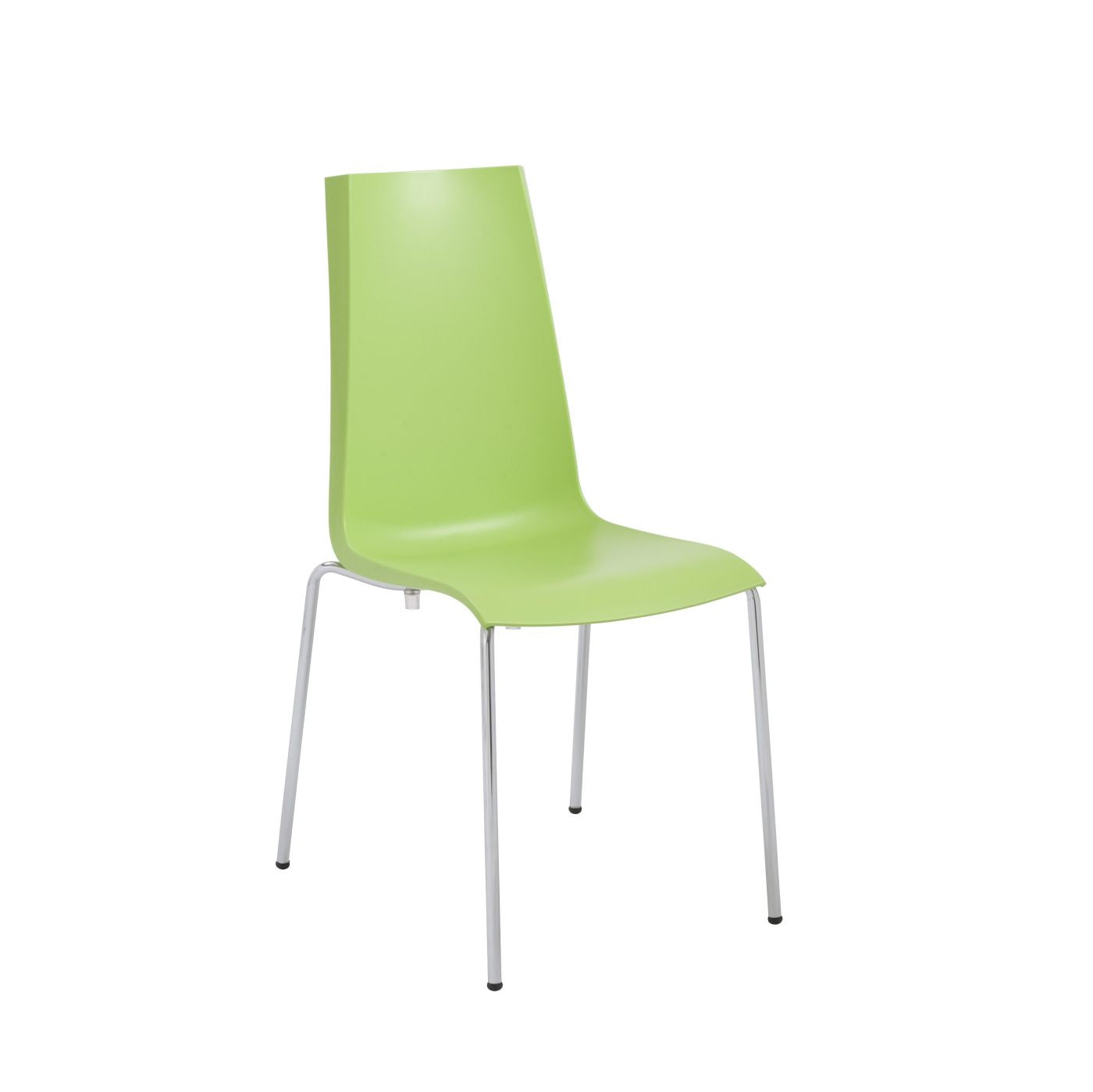 Tobago Stacking Chair Brown Chrome: Buy Euro Style EURO-266051 Mannequin Stacking Side Chair