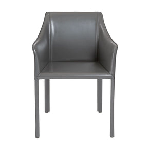 Eysen Arm Chair In Anthracite Dining