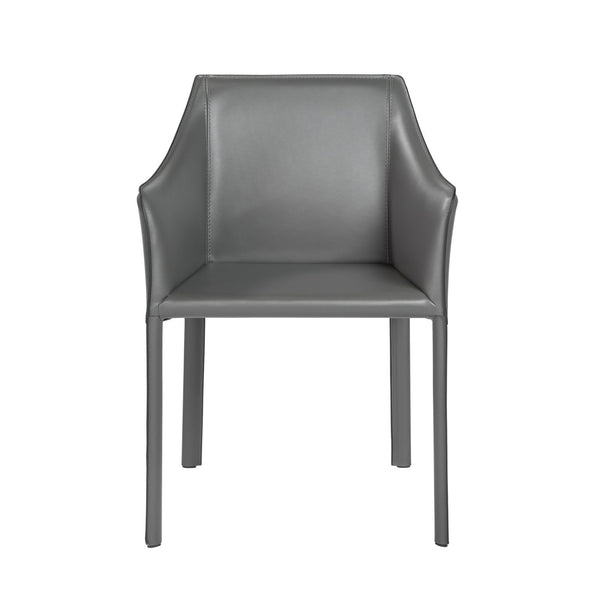Eysen Arm Chair In Matte Anthracite Dining