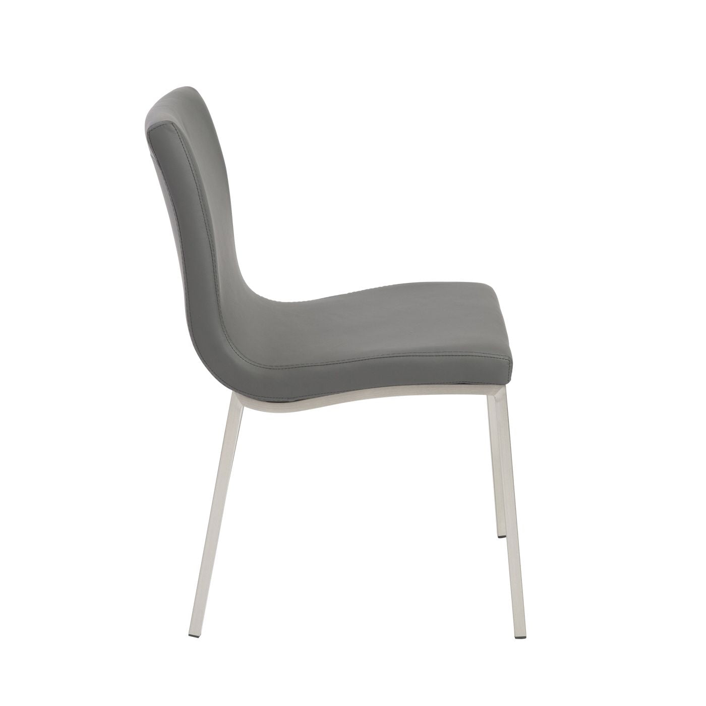 Buy Euro Style Euro 80960gry Scott Dining Chair In Gray