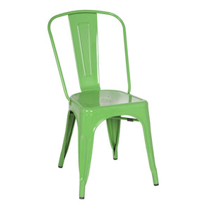 Dining Chairs - Fine Mod Imports FMI10014-GREEN Tolix Style Chair, Green | 15568675539 | Only $79.80. Buy today at http://www.contemporaryfurniturewarehouse.com