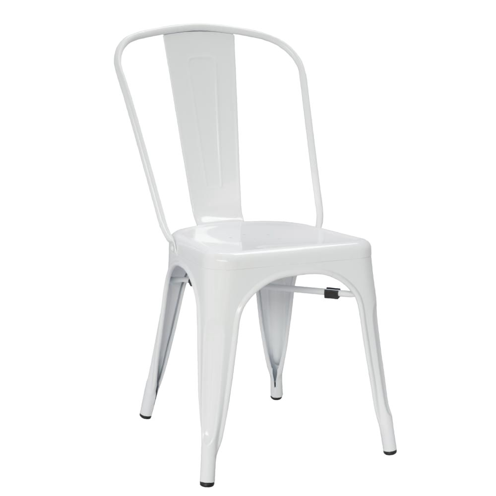 Tolix Style Chair White Dining