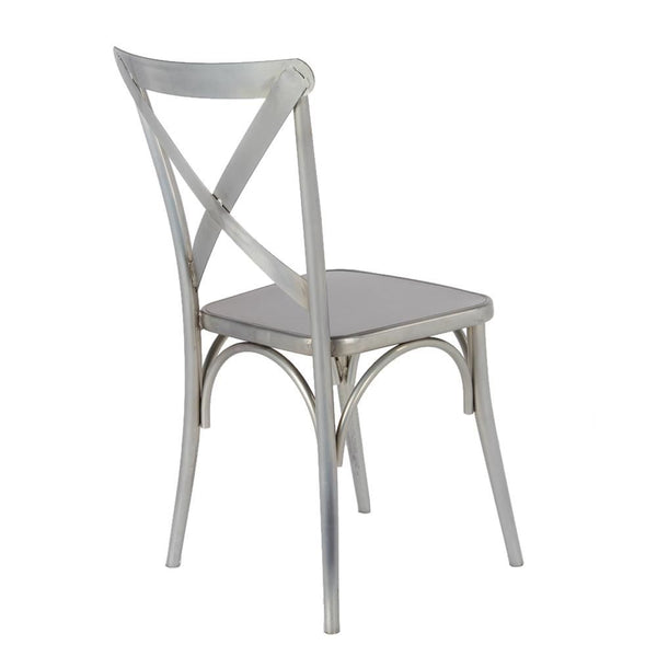 Jenbo Dining Side Chair Gunmetal