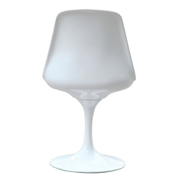 Flower Side Chair White Dining