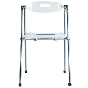 Acrylic Folding Chair, Clear