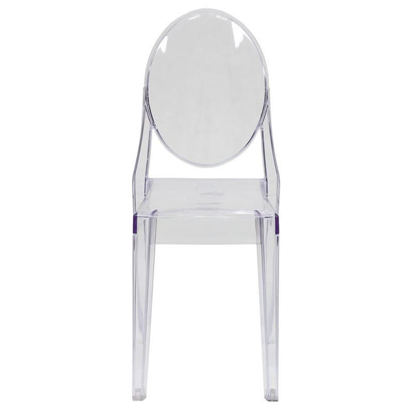 Ghost Side Chair Transparent Dining