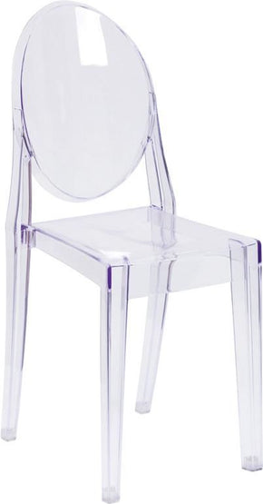 Ghost Side Chair Transparent Clear Dining