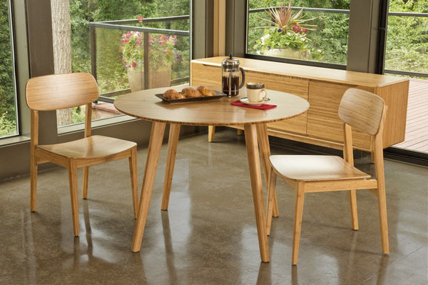 Currant Bamboo Chair Carmalized (Set Of 2) Dining