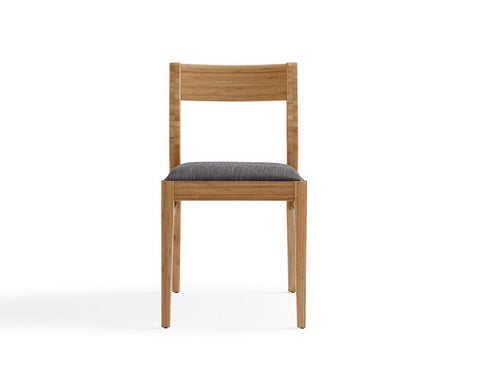 Laurel Bamboo Dining Chair Carmalized (Set Of 2)