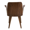 Verdana Chair Walnut Grey Dining