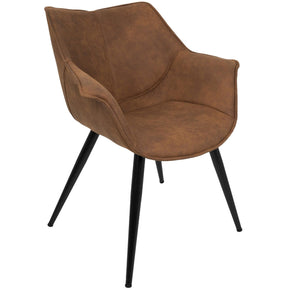 Wrangler Chair Rust Dining