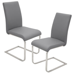 Foster Dining Chair - Set Of 2 Grey