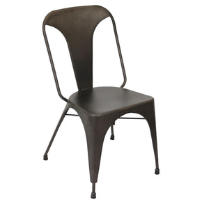 Austin Industrial Dining Chair - Set Of 2 Antique Finish