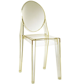 Dining Chairs - Modway EEI-122-YLW Casper Ghost Dining Side Chair | 848387000059 | Only $85.50. Buy today at http://www.contemporaryfurniturewarehouse.com