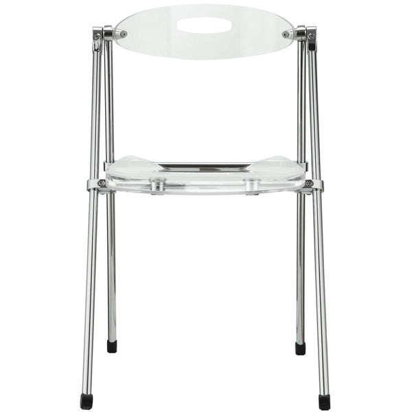 Dining Chairs Modway Telescope Folding Chair EEI 148 CLR | 848387022327|  $89.50. Dining Chairs ...