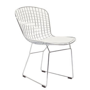 Dining Chairs - Modway EEI-161-WHI CAD Dining Side Chair | 848387015343 | Only $108.00. Buy today at http://www.contemporaryfurniturewarehouse.com