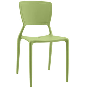 Fine Dining Side Chair Green