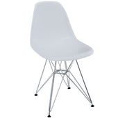 Modway Paris Dining Side Chair EEI-179-WHI | 848387013783| $57.75. Dining Chairs - . Buy today at http://www.contemporaryfurniturewarehouse.com