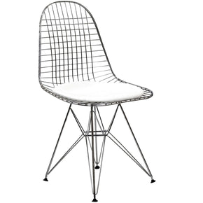 Tower Dining Side Chair White