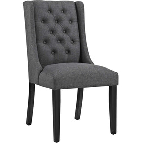 Dining Chairs - Modway EEI-2235-GRY Baronet Modern Fabric Dining Side Chair | 889654066354 | Only $140.75. Buy today at http://www.contemporaryfurniturewarehouse.com