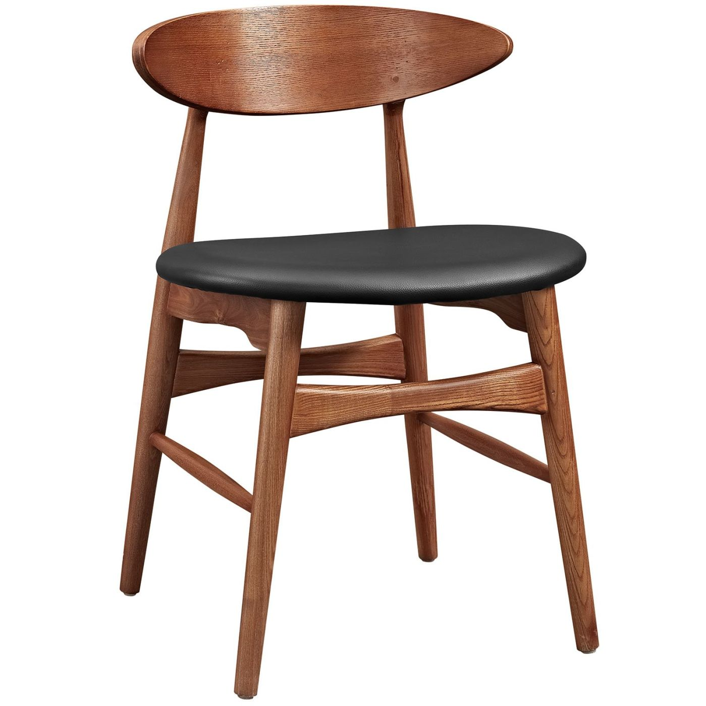Peachy Modway Dining Chairs On Sale Eei 2280 Wal Blk Ebee Mid Century Modern Dining Chair Walnut Only Only 281 05 At Contemporary Furniture Warehouse Creativecarmelina Interior Chair Design Creativecarmelinacom