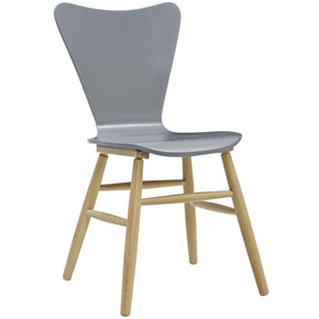 Modway Cascade Mid Century Bentwood Dining Side Chair (Multiple Colors)  EEI 2672