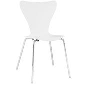 Ernie Dining Side Chair White